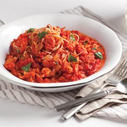 Creamy Tomato Crawfish Pasta
