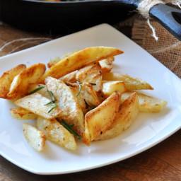 Crispy Baked Rosemary Garlic Fries