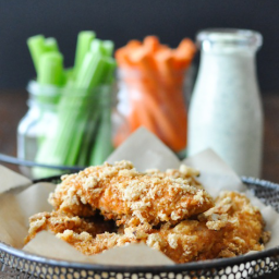 Crispy Buffalo Chicken Fingers Recipe