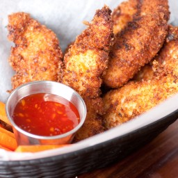 Crispy Coconut Chicken Tenders