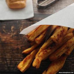 Crispy Daikon Fries