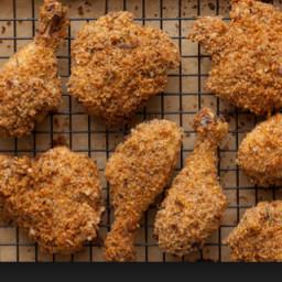 Crispy oven fried Mexicali chicken
