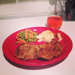 Crispy Panko Pork Chops