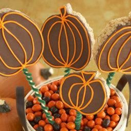 Crispy Pumpkin Treats