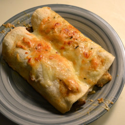 Crispy Tofu and Mushroom Enchiladas