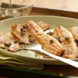 Crispy Trout with Lemon-Caper Sauce
