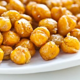 Crispy Roasted Chickpeas (Garbanzo Beans) Recipe