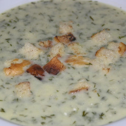 Croatian dill soup