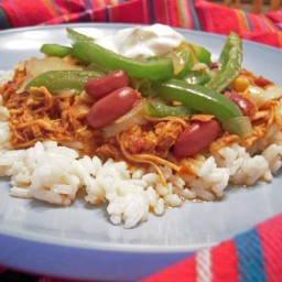 Crock Pot Chili Chicken