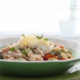 Crock Pot Chicken Fajita Bowl (Grain-Free, Paleo)