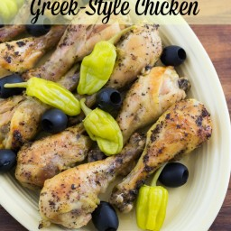 Crock Pot Greek Style Chicken