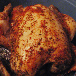 Crock Pot Rotisserie Style Chicken