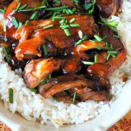 Lake Lure Cottage's Crock Pot Teriyaki Chicken