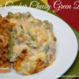 Crock-Pot Cheesy Green Beans-Recipe