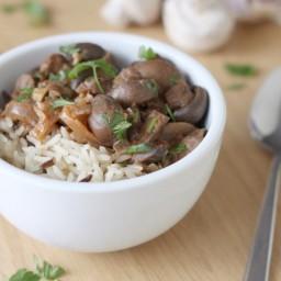 Crock-Pot mushroom stroganoff (giveaway!)