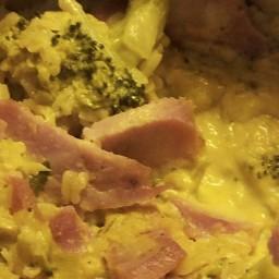 Crockoli Broccoli Ham & Wiz