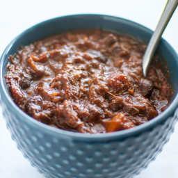 Crockpot Beef Short Rib Chili