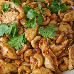 Crockpot Cashew Chicken