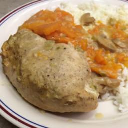 Crockpot Chicken Breasts A L'Orange