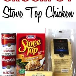 Crockpot Stove Top Chicken Recipe!