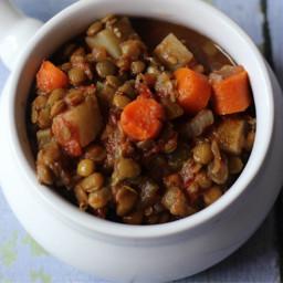 Crockpot Vegetable Lentil Soup