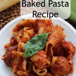 Crockpot Baked Pasta Recipe