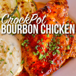 CrockPot Bourbon Chicken