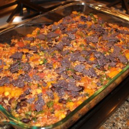 Crowd-Pleasing Tex-Mex Casserole