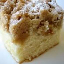 Crumb Top Butter Cake