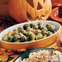 Crumb-Topped Brussels Sprouts Recipe