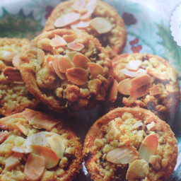 Crumble mince pies