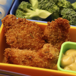 Crunchy Oven Baked Nuggets