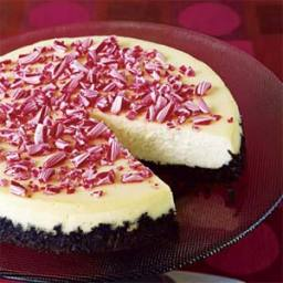 Crushed-Peppermint Cheesecake