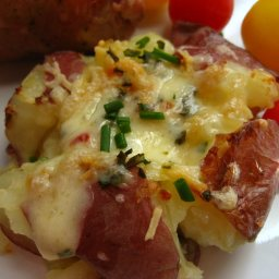 Cuban Crushed Potatoes
