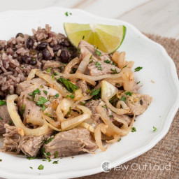 Cuban Braised Pork with Mojo Sauce