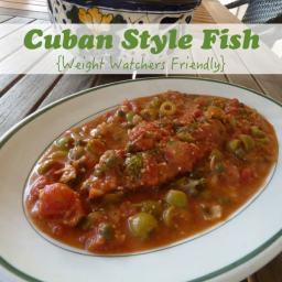 Cuban Style Fish