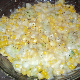 Cucumber and Corn sidedish