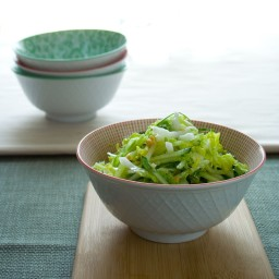 cucumber and napa cabbage coleslaw