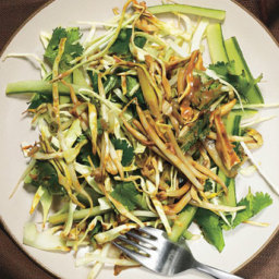 Cucumber-Cabbage Salad with Tamarind Dressing