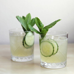 Cucumber Minty Cocktail