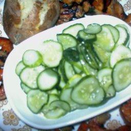Cucumber Vegetable Salad (korean Ol Namul)