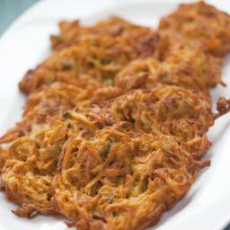 Curried Sweet Potato Pancakes