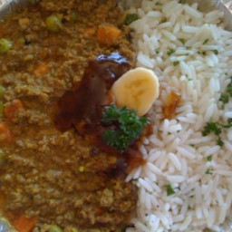 Curry and Rice - SA style