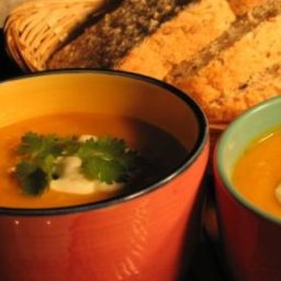 Curry Pumpkin Soup