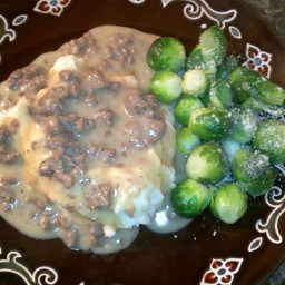 Dad's Hamburger Gravy