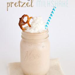 DairyPure Chocolate Hazelnut Pretzel Milkshake (she: Sierra)