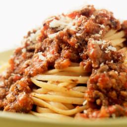 Dan Marino's Pasta Bolognese