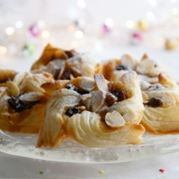 Danish pastry mince pies