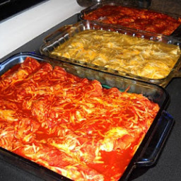 Darins Rolled Chicken Enchiladas