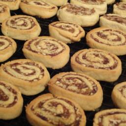 Date Nut Pinwheel Cookies